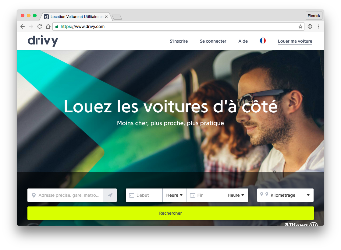 Drivy - website